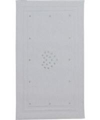 Soft Cotton Koupelnová předložka MICRO LOVE Bílá / mentolové srdíčka
