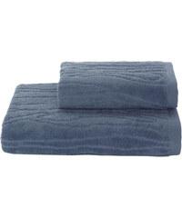 Soft Cotton Ručník SORTIE 50x100 cm Modrá