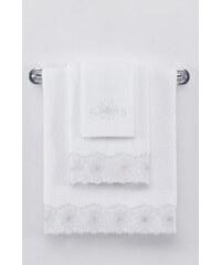 Soft Cotton Malý ručník MELODY 32x50 cm Bílá