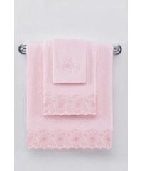 Soft Cotton Malý ručník MELODY 32x50 cm Růžová