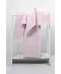 Soft Cotton Malý ručník PANDORA 32x50 cm Růžová