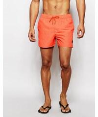 Native Youth - Short de bain à motif sable - Orange