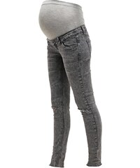 Mama Licious MLSAMMY Jeans Slim Fit dark grey denim