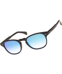 Wood Fellas Haidhausen lunettes de soleil black/mirror blue