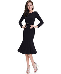 Ever Pretty černé business šaty-skladem