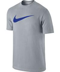 Nike TEE CHEST SWOOSH tmavě šedá 2xl