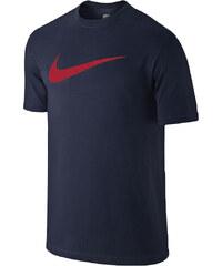 Nike TEE CHEST SWOOSH tmavě modrá L