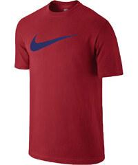 Nike TEE CHEST SWOOSH červená L