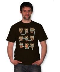 PANDEMIC Pánské tričko s potiskem Sova: Whoo