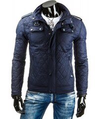 Pánská jarní bunda Naharis tmavě modrá - dark modrá