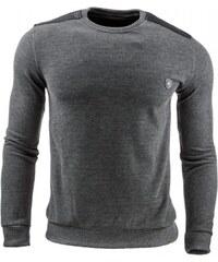 Pánský svetr Mellark tmavě šedý - dark šedá