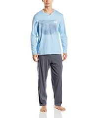Athena Herren Sportswear-Set Pyjama Long Droit