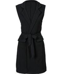 BODYFLIRT MUST-HAVE: Lange Weste in schwarz für Damen von bonprix