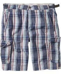 bpc bonprix collection Karo-Bermuda Regular Fit in blau für Herren von bonprix
