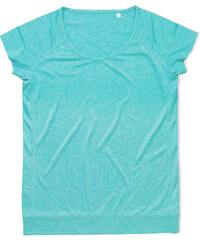 Dámské sportovní tričko Performance - Tyrkysově modrá S