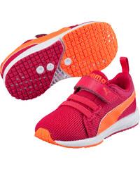 Puma Dívčí běžecké tenisky Carson Runner V - růžovo-oranžové