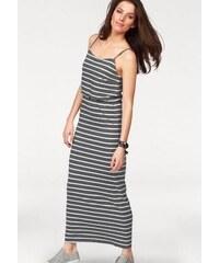 Damen Maxikleid gestreift weiche Jersey-Qualität Aniston grau 34,36,38,40,42,44