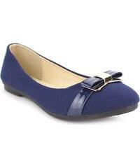 Ballerine feutrine Blue AZARA - Cendriyon