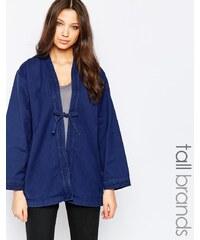 Waven Tall - Imma - Kimono en jean - Bleu