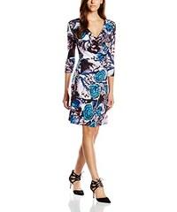 Almost Famous Damen Kleid Oriental Floral Wrap