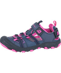 ALPINE PRO Dívčí sandály Bilpin - růžovo-modré