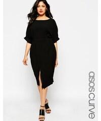 ASOS CURVE - Kleid mit Cutouts hinten - Schwarz