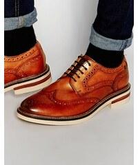 Base London - Apsley - Chaussures richelieu en cuir - Fauve