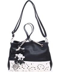 Remonte kabelka Q0371-01 černá-bílá