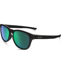 Oakley Stringer Sonnenbrillen Sonnenbrille matte black/ jade iridium