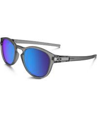 Oakley Latch Sonnenbrillen Sonnenbrille matte grey ink/ sapphire polar