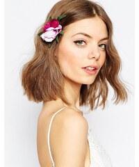 ASOS - Barrette à cheveux avec grosse fleur - Violet