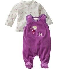 Schnizler Baby - Mädchen Strampler Nicki, Mädchen, 2-tlg. Set, Langarmshirt