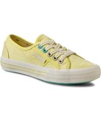 Tenisky PEPE JEANS - Baker Plain PGS30179 Lemon 031