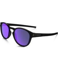 Oakley Latch Sonnenbrillen Sonnenbrille matte black/ violet iridium