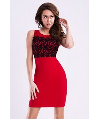 Dámské společenské šaty EMAMODA červené