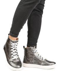 Lesara High-Top-Sneaker im Used-Look - 39
