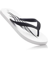 RAINBOW Tongs blanc chaussures & accessoires - bonprix