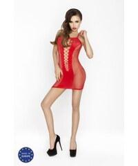 PASSION Erotické šaty BS027 červená