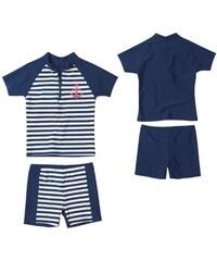 Playshoes Plavky dětské koupací komplet UPF50+ námořník