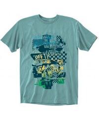 Pánské tričko Vans OTW checker blaster mint/blue M