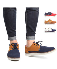 Lesara Chaussures à lacets en similicuir