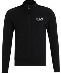 EA7 Emporio Armani Sweatjacke nero/bianco/silver