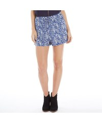 Ribbon Damen AOP Shorts Blau