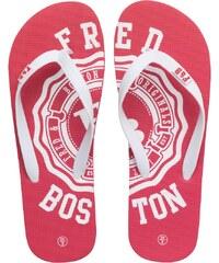 Fred & Boston Herren Zehentrenner Rot