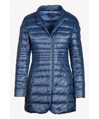 SAM 73 Dámský péřový kabát JAWS16_01 blue - modrá