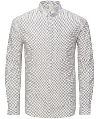 Jack & Jones Microprint- Langarmhemd