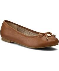 Baleríny TOMMY HILFIGER - Amy 54A FW56820752 Cognac 606