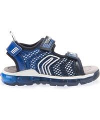 Geox Chlapecké modré sandály J Sandal Android Boy