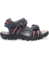 Geox Chlapecké tmavě modré sandály JR Sandal Strada
