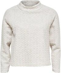 ONLY Gekürztes High Neck Sweatshirt